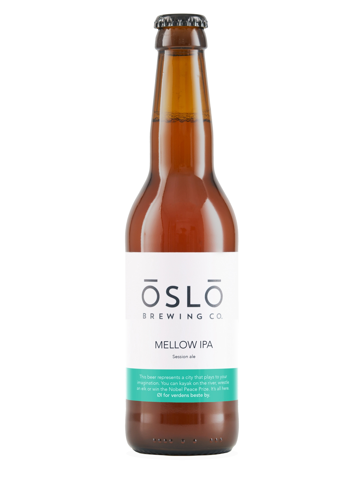 Oslo Brewing Company Mellow IPA Bottle