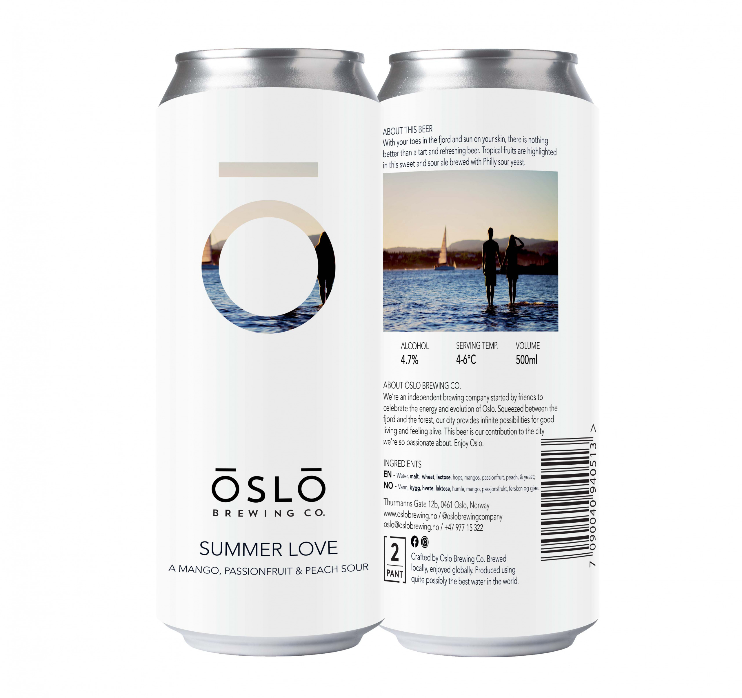 Oslo Brewing Company Summer Love Can